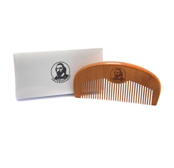 Peach Wood Comb