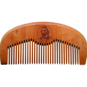 SHAKESBEARD ® Peach Wood Comb
