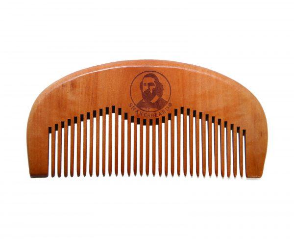 SHAKESBEARD ® Peach Wood Comb