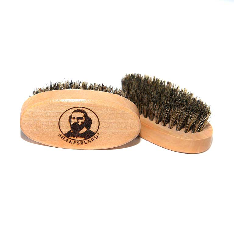 SHAKESBEARD® 100% Boar Bristle Beard Brush